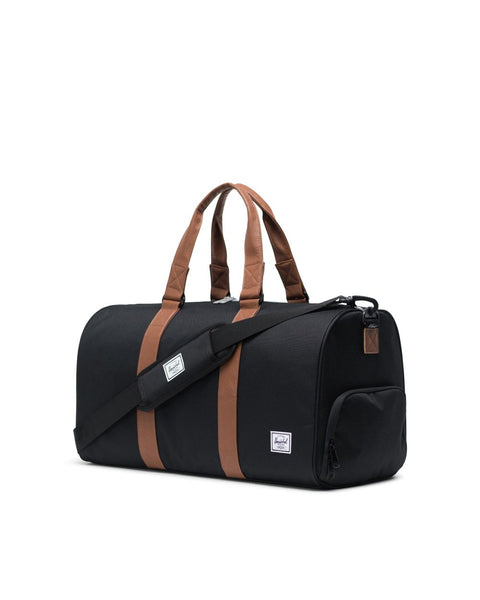 Herschel Novel Mid Black/Tan Leather