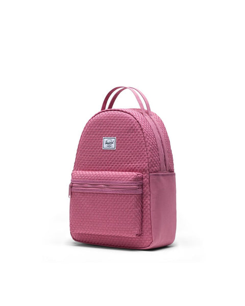 Herschel Nova Small - Woven Heather Rose
