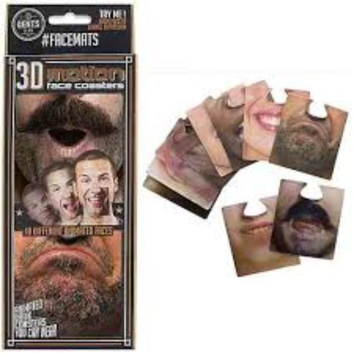 3D motion face coasters