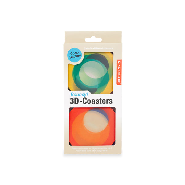 Bouncy! 3D Coasters