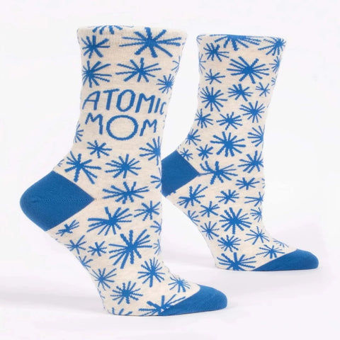 Women's Cotton Socks - Atomic Mom