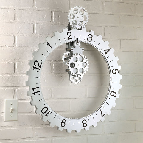 Big Wheel Wall Clock