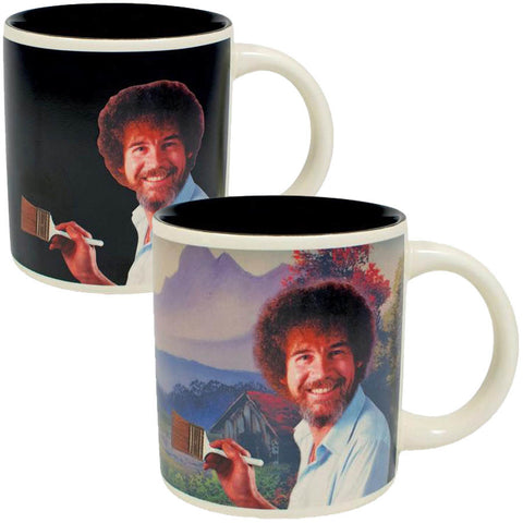 Bob ross heat change mug