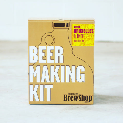 Bruxelles Blonde Beer Making Kit