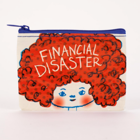 Coin Purse - Financial Disaster - MERCURI