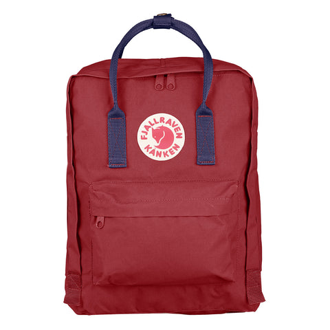 Fjällräven Kånken Mini Ox Red- Royal Blue - MERCURI