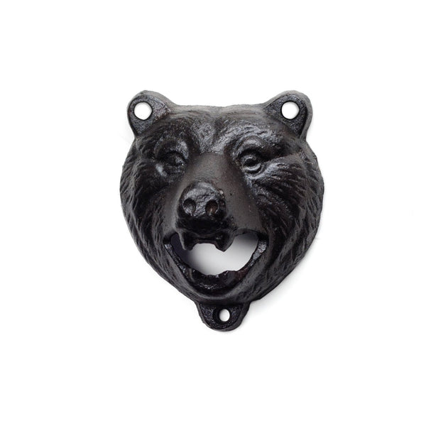 GROWLING BEAR WALL BOTTLE OPENER - MERCURI