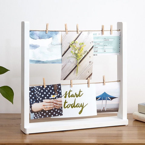 Hangit Desk Photo Display - MERCURI