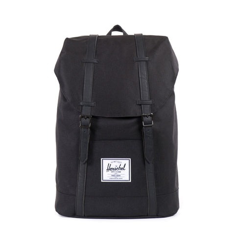 Herschel Retreat Black On Black