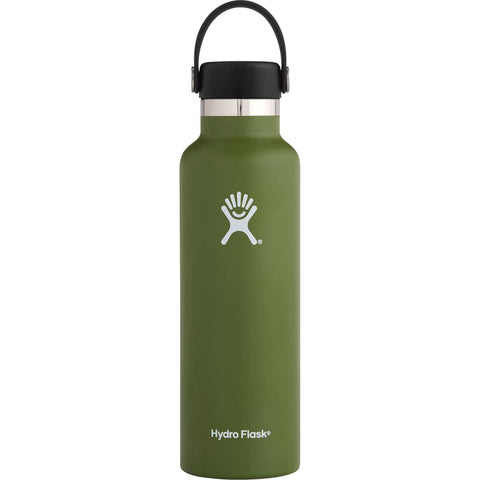Hydro Flask 18oz Standard Mouth With Flex Cap - Olive