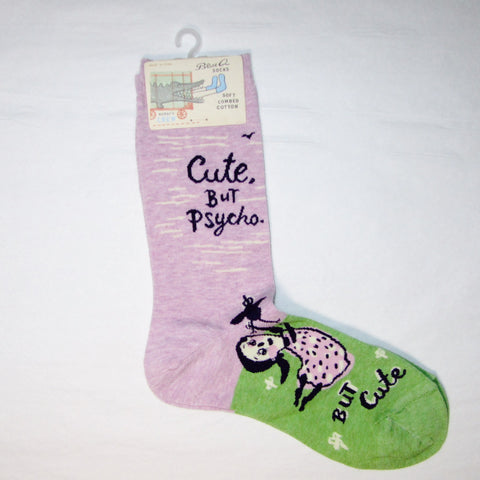 Women's Socks Cute but Psycho - MERCURI