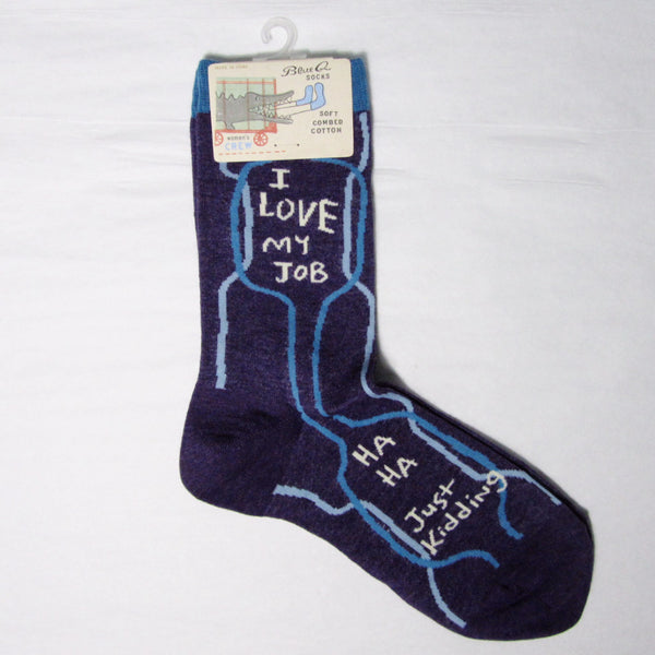 Women's Cotton Socks I Love My Job - MERCURI