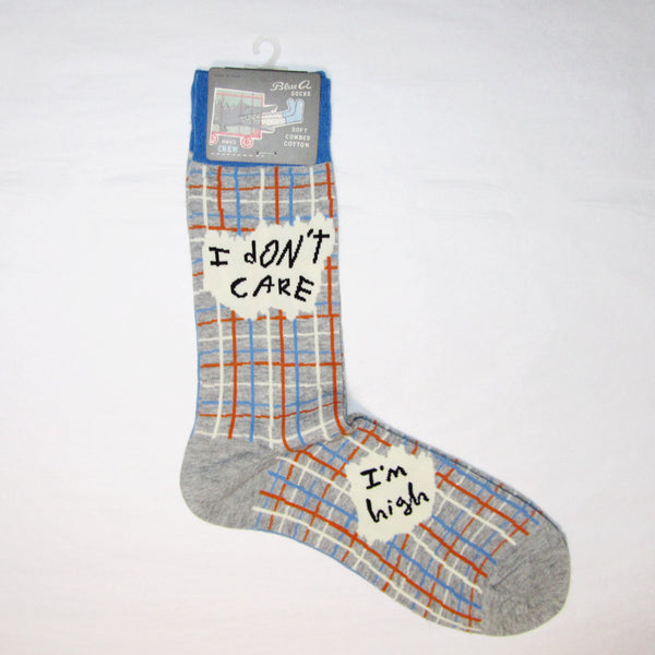 Men's Cotton Socks I Don't Care I'm High - MERCURI