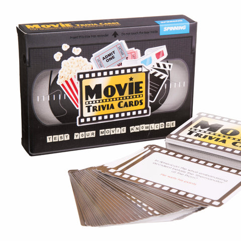 Movies Trivia Cards - MERCURI