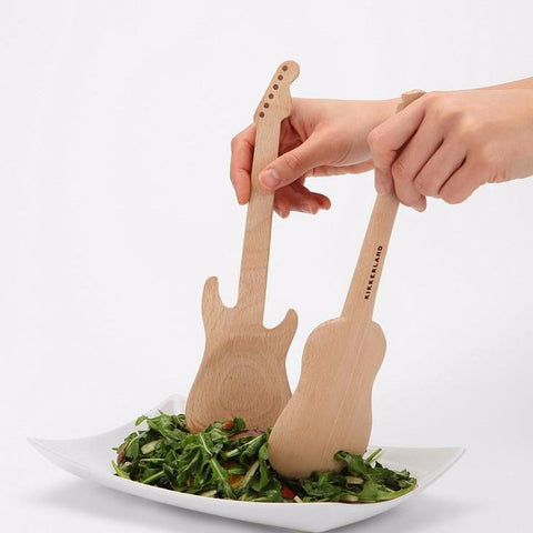 Rockin' Guitar Serving Spoons - MERCURI - 3