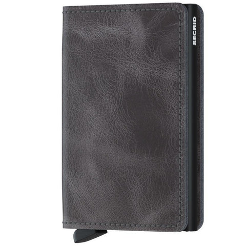 Secrid Slimwallet Grey - Black