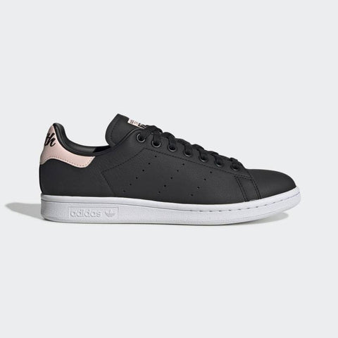 Adidas Stan Smith Women's Shoes - Black/Ice Pink/White Features