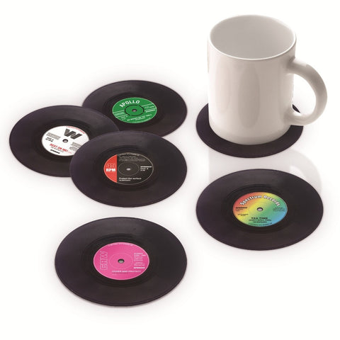 Vinyl Coasters (Set of 6) - MERCURI - 1