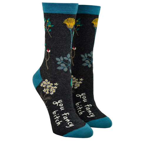 Women's Cotton Socks - You fancy bitch