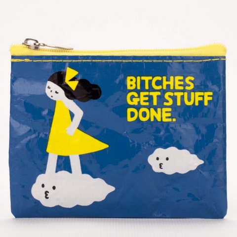 Coin purse- Bitches Get Stuff Done - MERCURI
