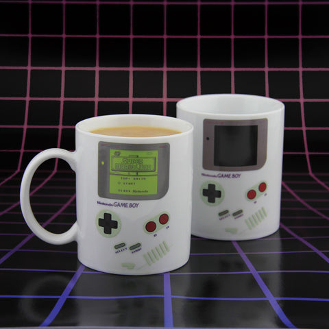 Game Boy heat changing mug