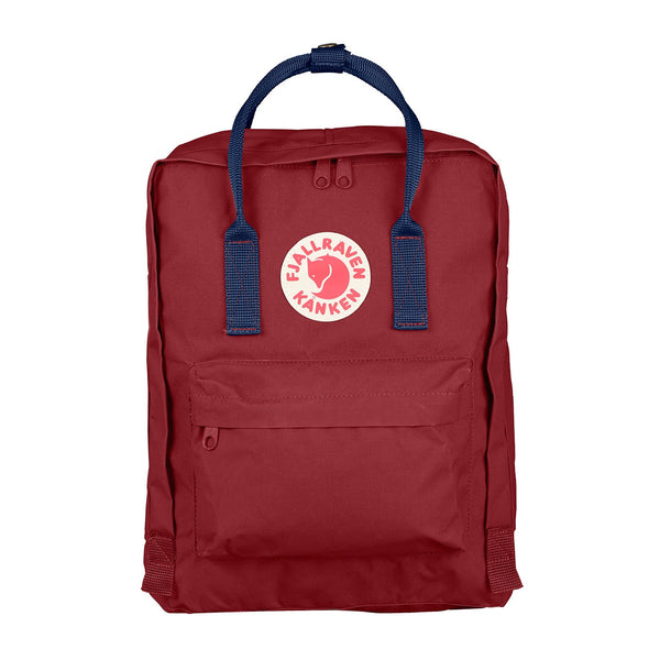 Fjällräven Kånken Ox Red and Royal Blue - MERCURI