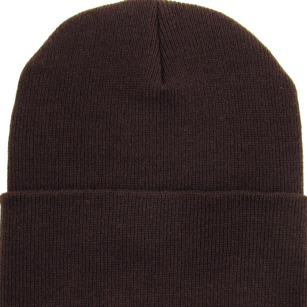 Beanie Cuffed - Brown