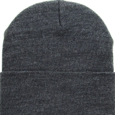 Beanie Cuffed - Dark Grey