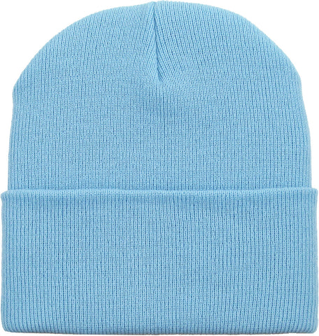 Beanie Cuffed - Light Blue