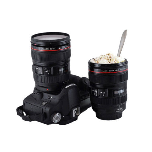 Camera Lens Travel Mug - MERCURI - 1