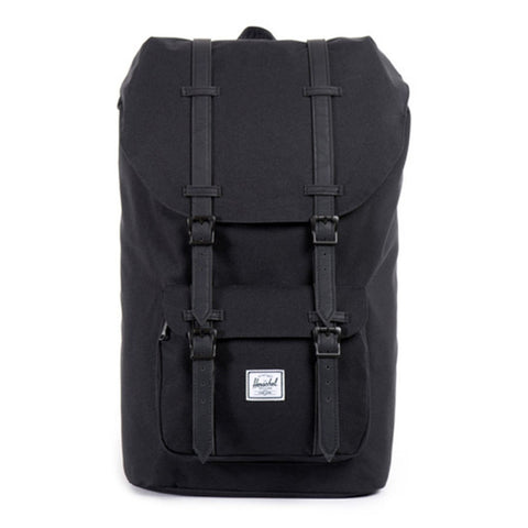 Herschel Little America Black-Black Leather