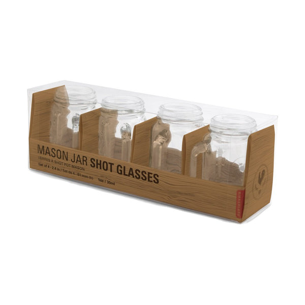 Mason Jar Shot Glasses - MERCURI - 4