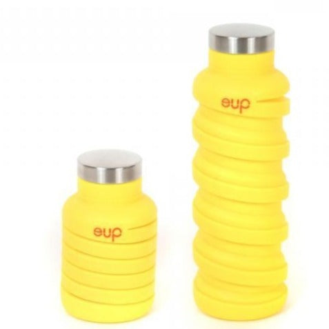 Que Collapsible Bottle  - Yellow