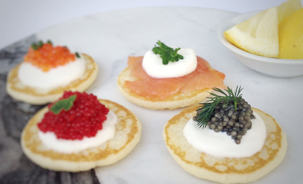 Pantry Accoutrements - French Style Cocktail Blini (16 Pieces)