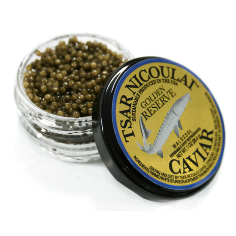 Caviar - American White Sturgeon - Golden Reserve / Unique • Golden Hue • Creamy • Perfection