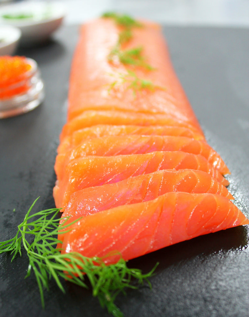 Smoked Salmon Prime Tenderloin Tsar-Cut