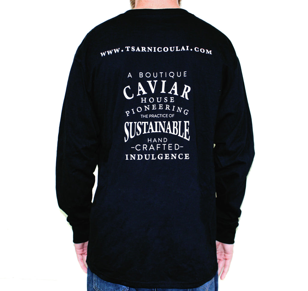Tsar Nicoulai Black Long Sleeve Shirt