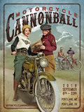2018 Motorcycle Cannonball Artwork and Event Poster Set