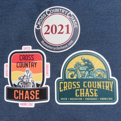 2021 Cross Country Chase Sticker Pack