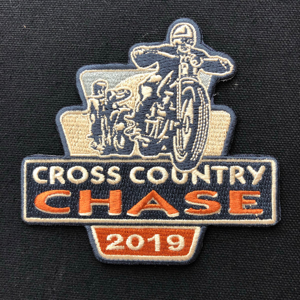 2019 Cross Country Chase Embroidered Event Patch