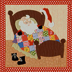 1950s Santa Claus Downloadable ePattern