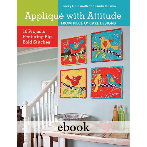 Applique With Attitude eBook
