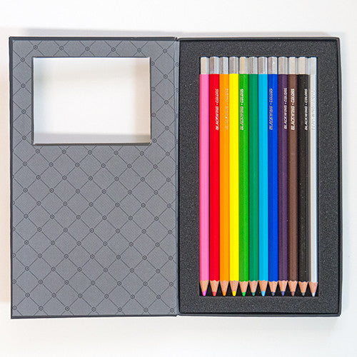 Blackwing Colors - 12 Soft & Smooth Colored Pencils