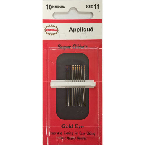 Super Glide Applique Needles – size 11