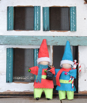 Perky Elf Ornament — A Free Downloadable Pattern
