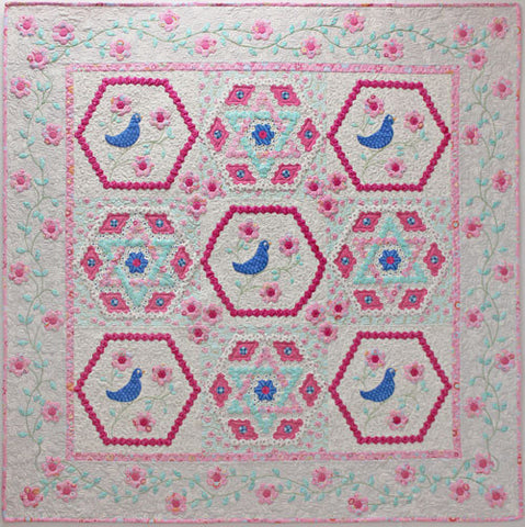 Daisy Patch Baby Quilt Downloadable Pattern