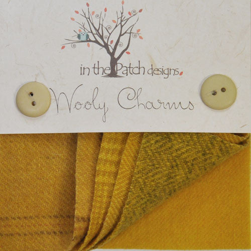 Wool Charm Pack – Goldenrod (4513)