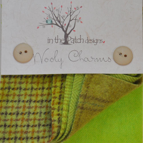 Wool Charm Pack – Chartreuse (4521)