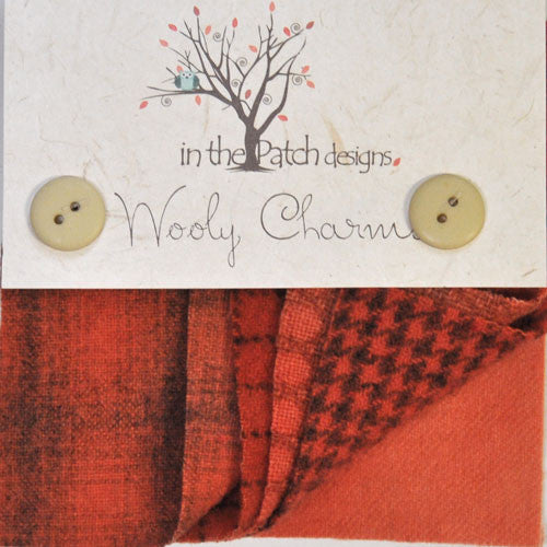 Wool Charm Pack – Deep Persimmon (4730)