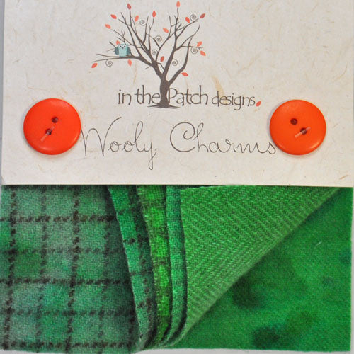 Wool Charm Pack – Spearmint (5705)